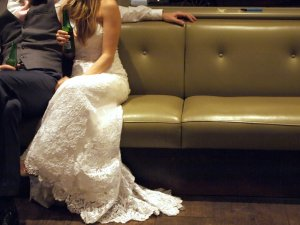 bride and groom London wedding
