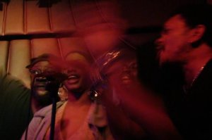 George Clinton Backup Singers at Bardot