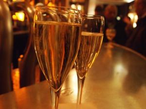 Champagne at Le Zinc Paris