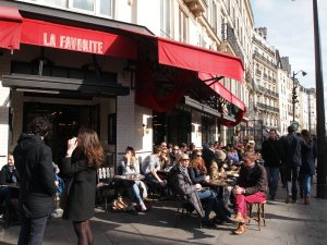 La Favorite cafe Le Marais St Paul Paris