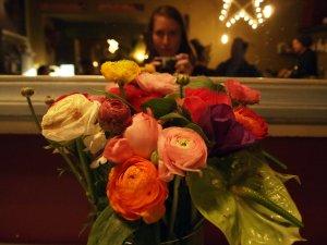 flowers Bar del Fico Rome