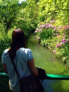 stream monet garden giverny summery blog