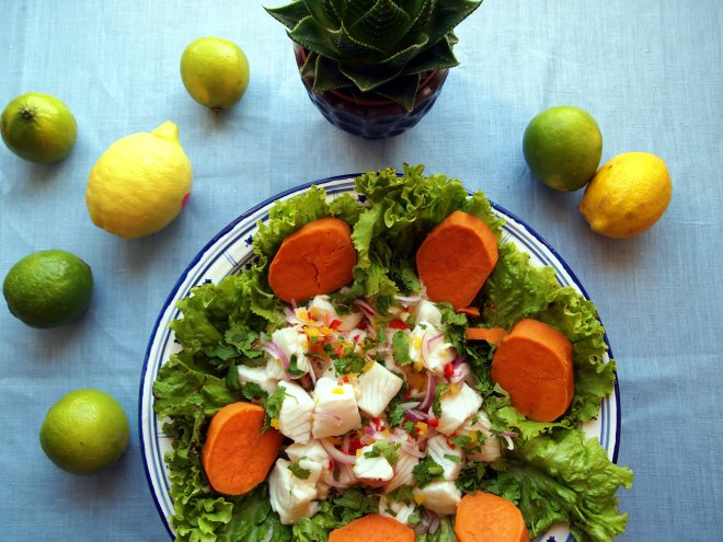 summery blog peruvian ceviche recipe