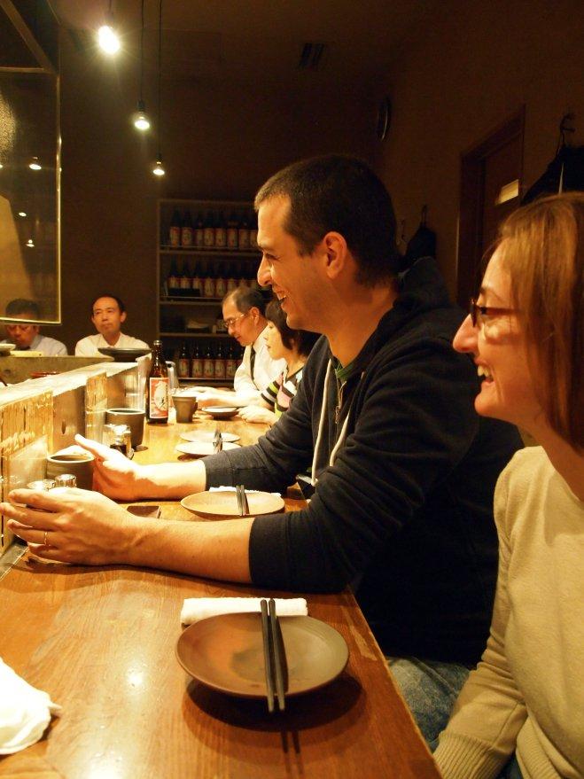 dinner at the counter fuku tokyo