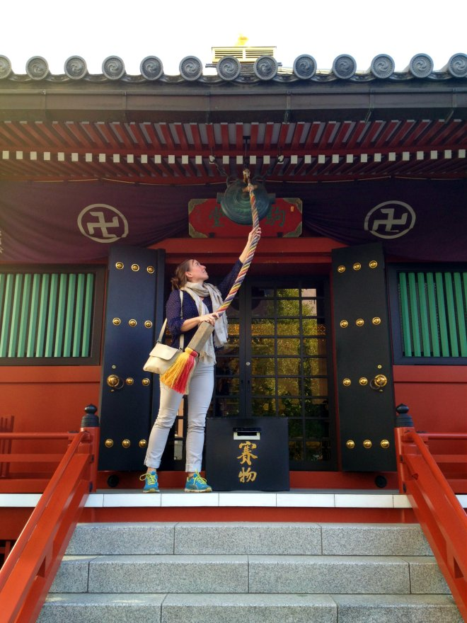 tokyo temple bell